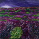 Beautiful Garden - SOLD [Oil on Linen, 101cm x 101cm x 3.8cm]