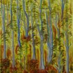 Bush Forest - Oil on Canvas, 76cm x 101xm x 3.8xm