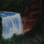 Fitroy Falls 2 NSW - OIl on Canvas, 76cm x 101cm x 3.8cm
