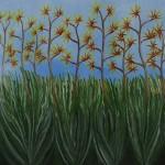Hybrid - Oil on Canvas, 101cm  x 101cm x 3.8cm
