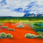 Northern Territory Outback (Australia) SOLD - [Oil on Linen: 91cm x 122 cm x 3.8 cm]