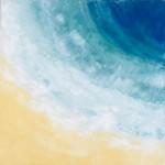 Tsunami - SOLD [Oil on Canvas, 61cm x 61cm]